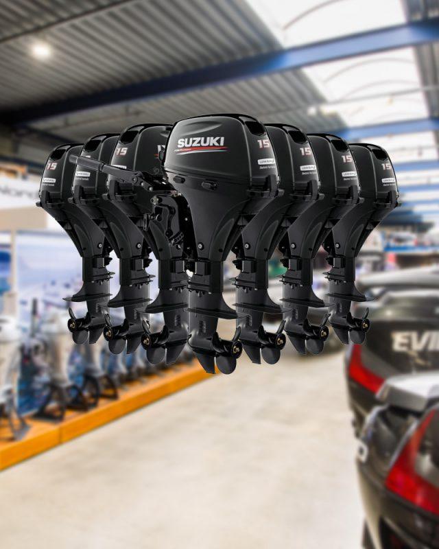 Voor iedereen is er een Suzuki buitenboordmotor!