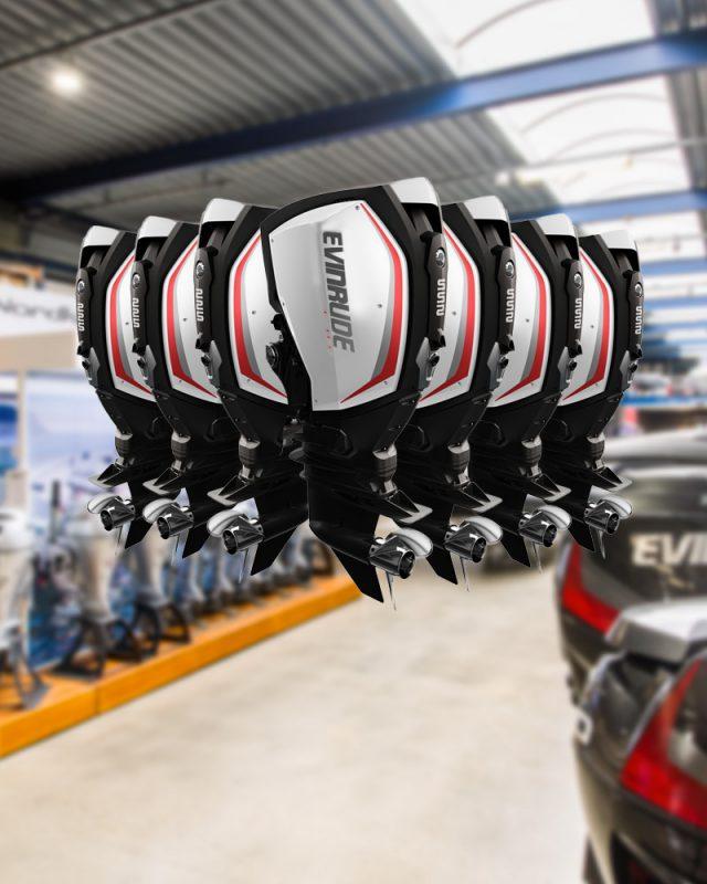 Ontdek de schoonste buitenboordmotoren ter wereld, de Evinrude E-TEC