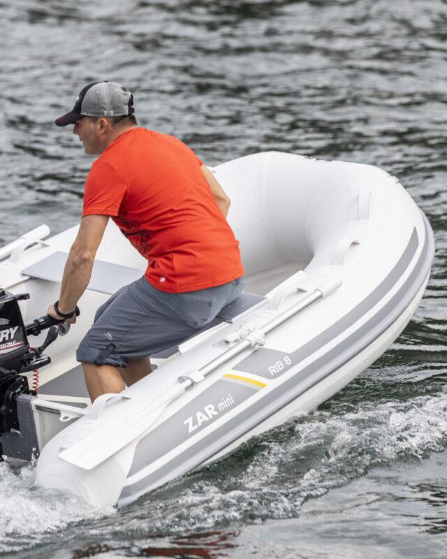 Een hoogwaardige ZAR Mini rubberboot voor ongetwijfeld vaarplezier!